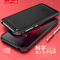 Xiaomi Redmi 4x Bumper Original LUPHIE Aluminum Armor Border Luxury Metal Frame For Xiaomi Redmi 4x