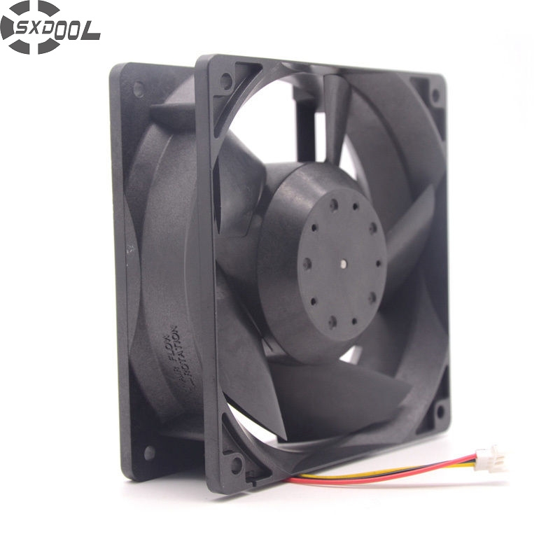 SXDOOL MMF-12D24DS-MM6 NC5332H75A DC 24V 0.38A 12038 120*120*38mm inverter fan цена