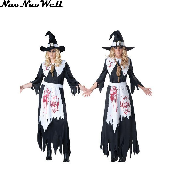 fantasia woman maid cosplay show cloth halloween costume carnival servant role playing rave party witch black - Raving Rabbids Halloween Costume