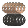 Refit highest quality Clutch drive steel Plates Kit & friction disc Sintered for DUCATI  Hypermotard 1100 1098 1198