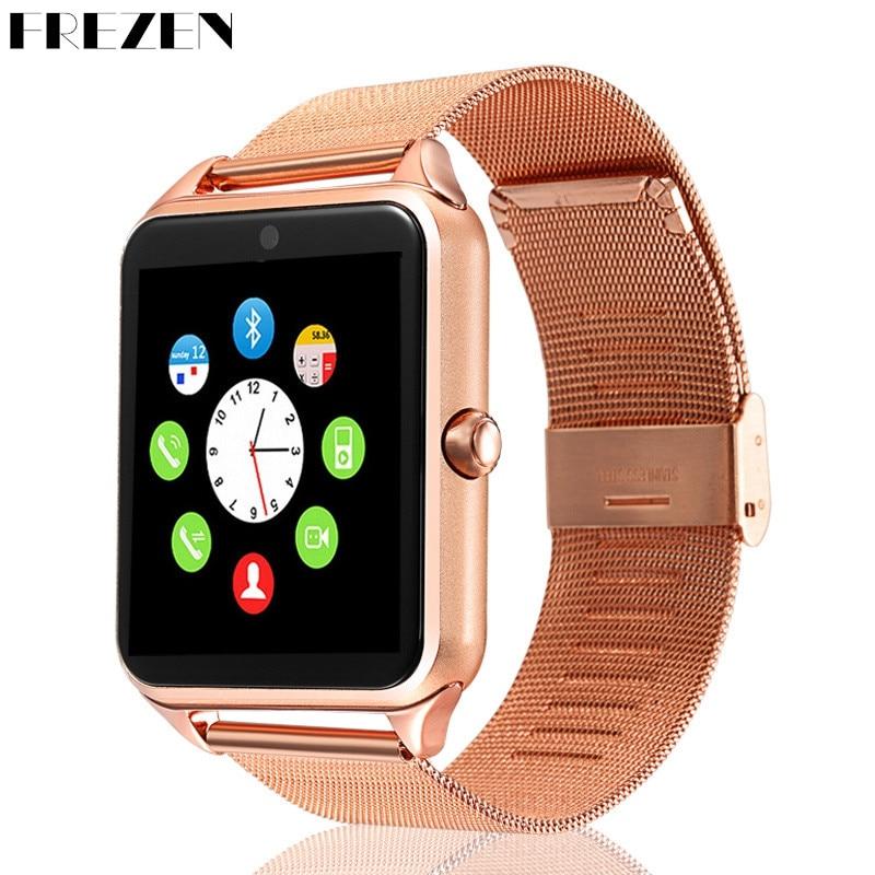 FREZEN Smart Watch GT08 Clock With Sim Card Slot Push Message - Elektronik pintar