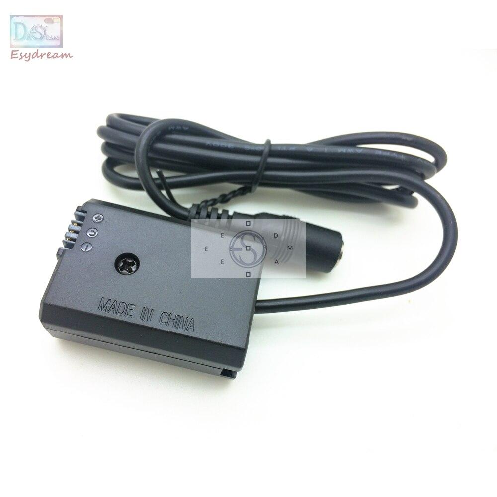 Batería ficticia NP-FW50 reemplazo acoplador adaptador de fuente de alimentación externa para Sony AC-PW20 FW50 A7 A6500 NEX 7 6 5 5 T Cámara