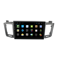 10 1 Big Screen No Disk Android 4 4 Car GPS For Toyota RAV4 2013 2014