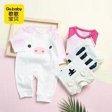 3d4d8ec7fbb30 Nouveau-né bébé ours barboteuse vêtements bébé printemps à manches longues  pyjamas combinaison vêtements bébé