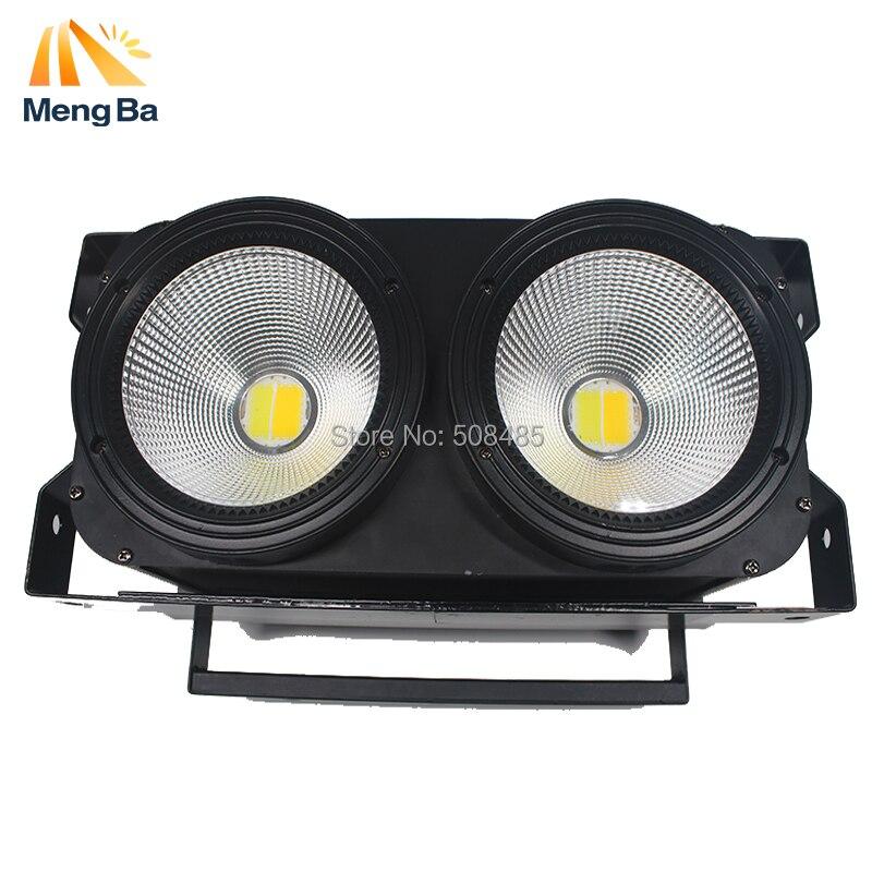 LED COB 2 occhi 2x100 W Blinder Luce per la Fase di Illuminazione DMX Effetto di Fase di Illuminazione Led Pubblico