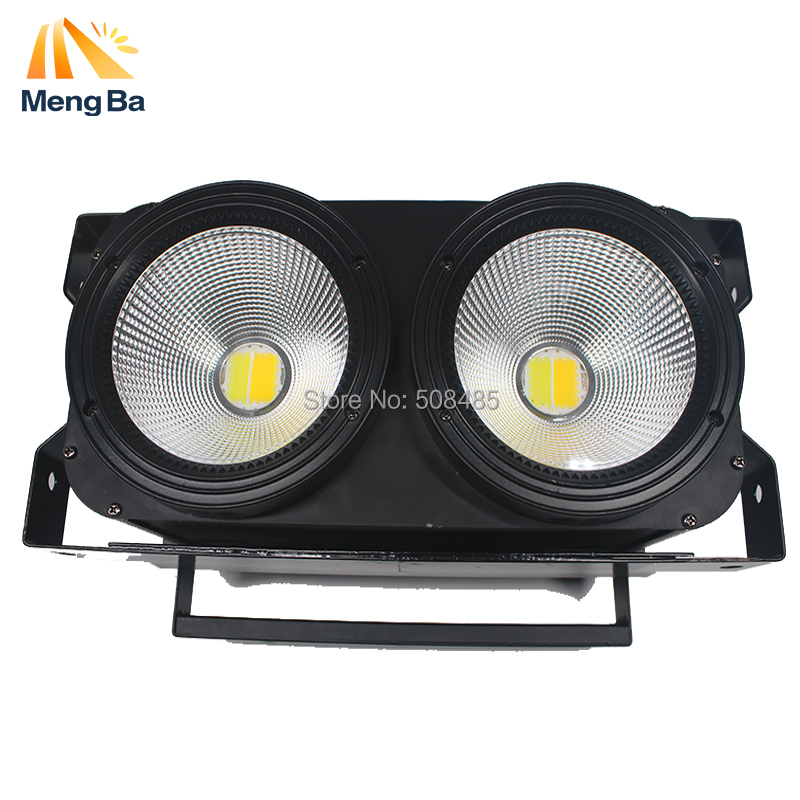 LED COB 2eyes 2x100W Blinder Lighting DMX Stage Lighting Effect Led Audience Light for Stage blinder m45 x treme