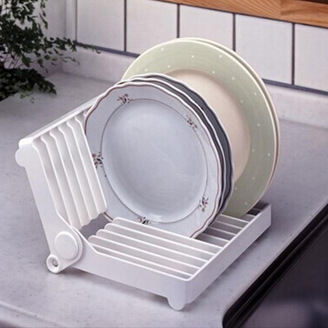 NC 180 Degree Rotate Adjustable Dish Plate Rack Drain Organizer Cup Drainer Kitchen Flatware Drying Holder & NC 180 Degree Rotate Adjustable Dish Plate Rack Drain Organizer Cup ...