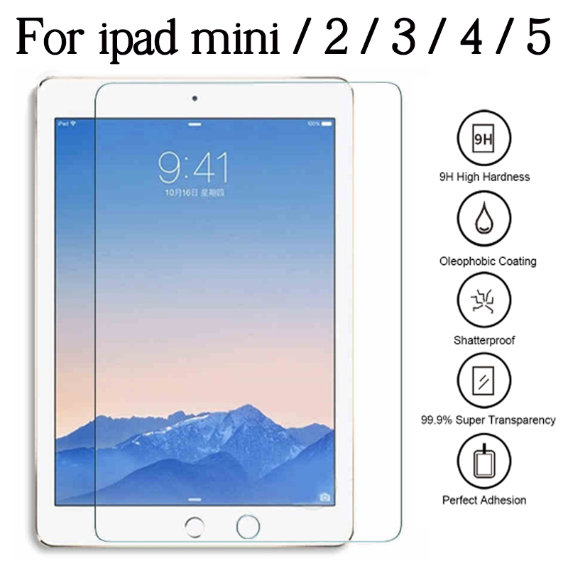 Protective Glass For Apple IPad Mini 2 3 4 5 7.9 Inch Screen Protector I Pad Mini2 Mini3 Mini4 Mini5 7.9inch Tempered Glas Film