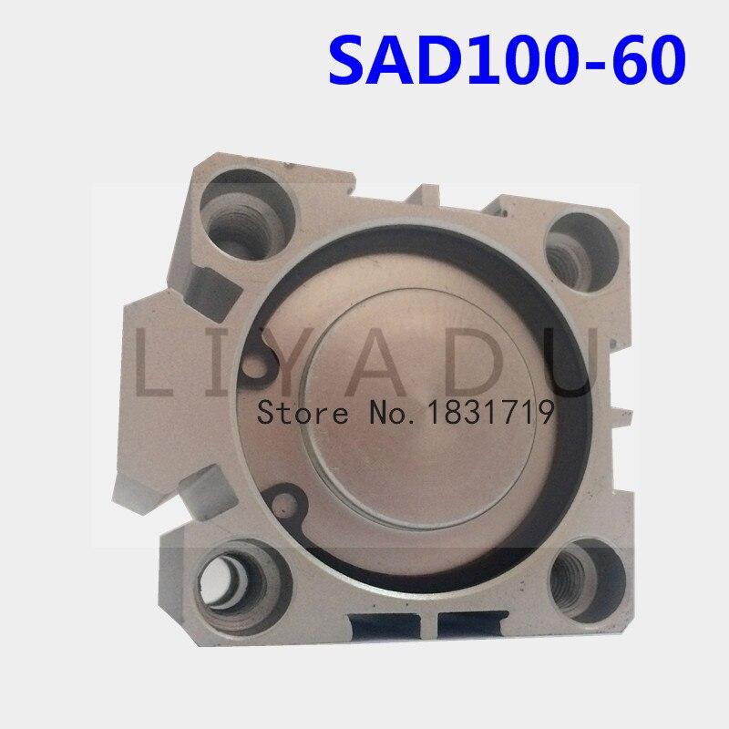 SDA100-60 sottile Serie di cilindri 100mm Bore 60mm Stroke SDA100 * 60 In lega di Alluminio cilindro SDA100X60SDA100-60 sottile Serie di cilindri 100mm Bore 60mm Stroke SDA100 * 60 In lega di Alluminio cilindro SDA100X60