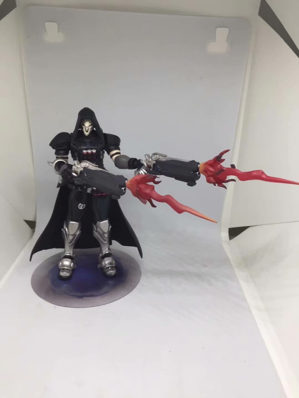 17cm ow Figma 393 Overwatches Reaper Series PVC Action Figure Model Toys Doll Gift 3