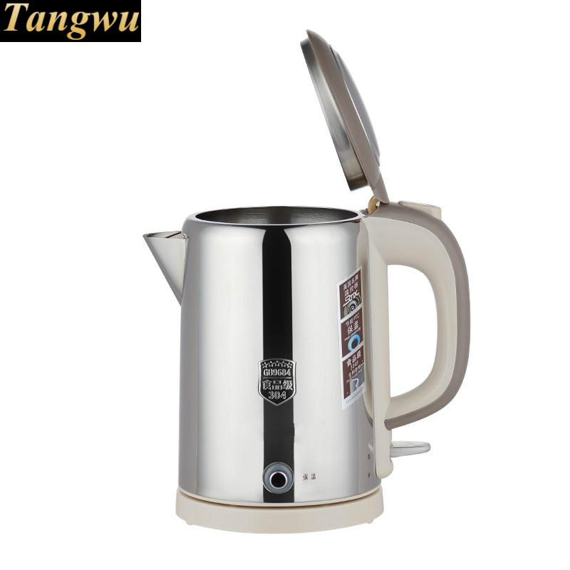 все цены на Automatic power failure food grade stainless steel kettle all steel-insulated electric Overheat Protection онлайн