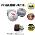 Gallium Metal 99.99% Pure 100 Grams Liquid Metal Melting Metal 99.99% PURE GALLIUM