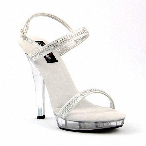 13 cm alto talón Zapatos de cristal de Cenicienta Sandalias fotografía  artística espectáculo Zapatos moda mujeres Zapatos 2ba9c4528b5a