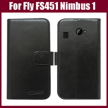 Fly FS451 Nimbus 1 Case,High Quality Fashion Wallet Stand Flip Leather Cover for Fly FS451 Nimbus 1 Phone Case in Stock.