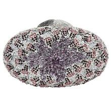 LaiSC ovale form Gold abendtaschen Luxury diamant bankett kupplung taschen gold flower kupplung taschen kette hochzeit pochette SC079