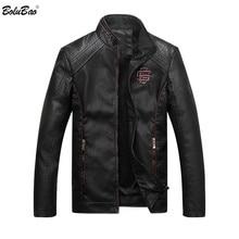 Bolubao Männer Leder Wildleder Jacke Mode Herbst Motorrad PU Leder Männlichen Winter Bomber Jacken Oberbekleidung Faux Leder Mantel