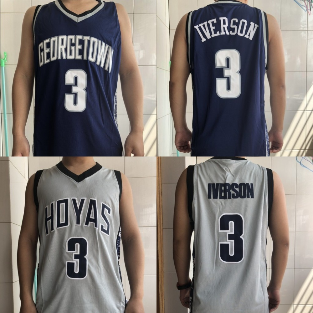 1d3d22e4b242 Buy georgetown hoyas jersey and get free shipping on AliExpress.com