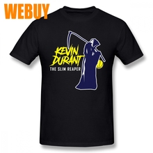 4adea1296 Round Collar Kevin Durant The Slim Reaper New Sale T-shirt Male Picture  Custom T