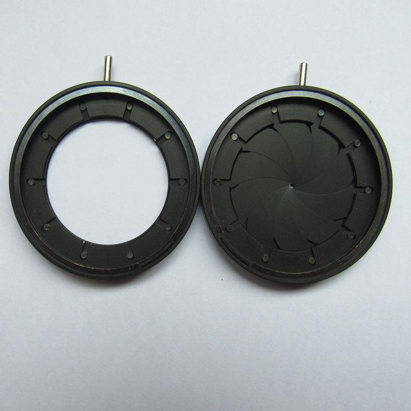 Diaphragme Iris réglable 1-29mm module optique de Microscope de caméra Iris mécanique d'ouverture 1 PC