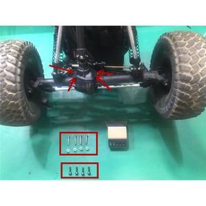 Image 4 - Полный комплект, металлические бронированные пластины, защитные наборы для 1/10 Gmade GOM GR01 RC Car OP Refit детали