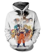 Dragon Ball 3D Digital Print Hoodie