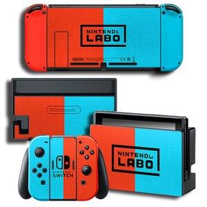 Image 2 - Защитная виниловая наклейка для консоли Nintendo Switch NS, защитная пленка для контроллера и держателя стойки серого цвета