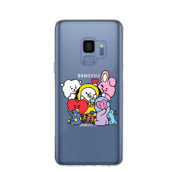 BTS RM Mono BT21 Bangtan Boys Phone Cases For Coque Samsung Galaxy ...