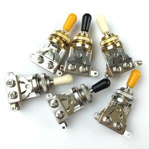 Селекторный переключатель для электрогитары, 1 шт., 3-сторонний, для EPI, LP, SG, никелевый, золотой, Сделано в Корее