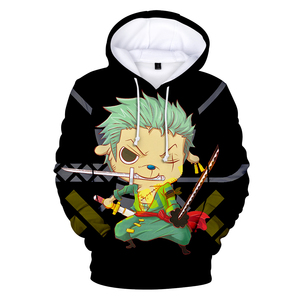 Image 3 - Fashion 3D One Piece Anime Hoodies Men pullovers Women Hooded Casual Long Sleeve 3D Print One Piece 3D Hoodies Mens Sweatshirts