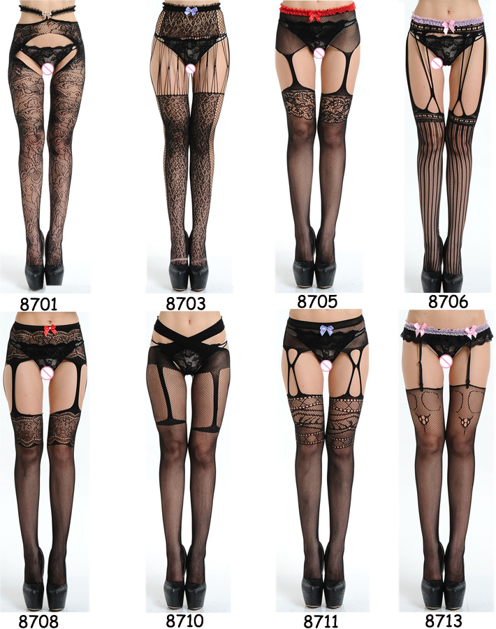 HTB175MEe8cHL1JjSZJiq6AKcpXan - Long Hollow Mesh Stockings Black Fishnet Stockings Stocking For Women Sexy Knee Socks Hot Hosiery Female Thin High Stockings 464