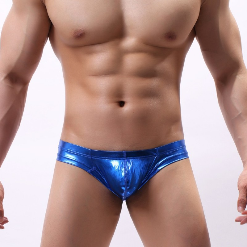 Topdudes.com - The Shiny Low Rise Swim Brief