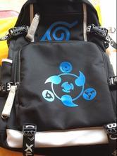 Naruto Canvas USB Charge Luminous Backpack