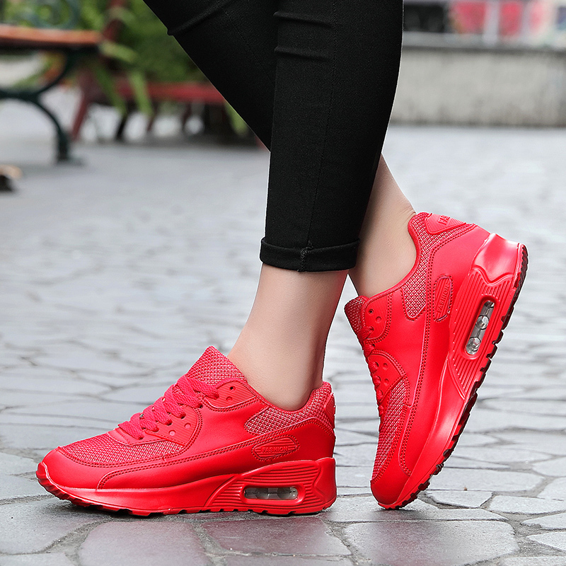 Women Running Shoes Cushion Sneakers Professional Sports Luxury Brand Trainers Chaussures Femmes Zapatos Mujer Sapato Feminino