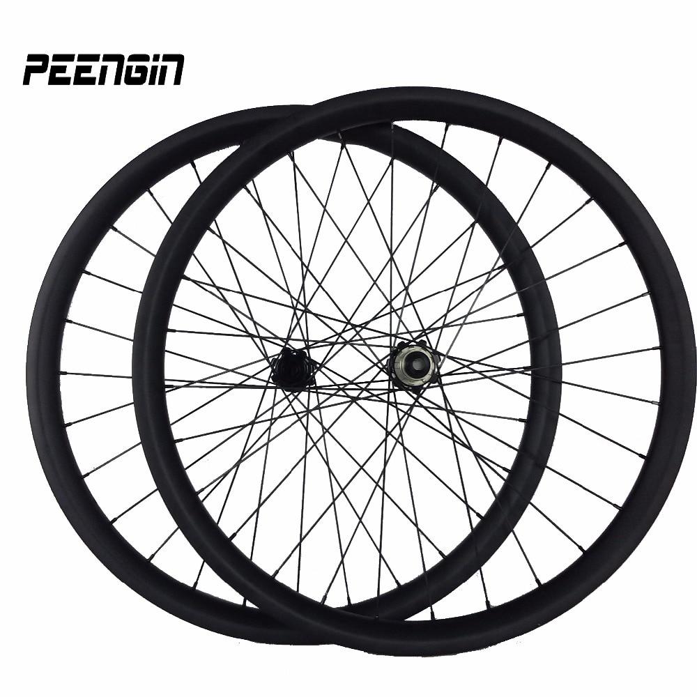 29er MTB колісні набори вуглецевого - Велоспорт