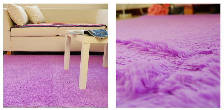 Light Purple 140x200cm Anti Skid Soft Fluffy Gy Home Area Rug Dining Room Carpet Comfy Bedroom Floor Mat Bath In From Garden On
