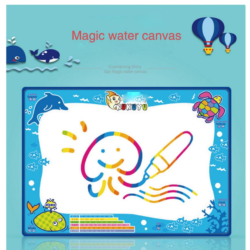 Water Drawing Painting Writing Mat Board Magic Pen Doodle Dropship Y908