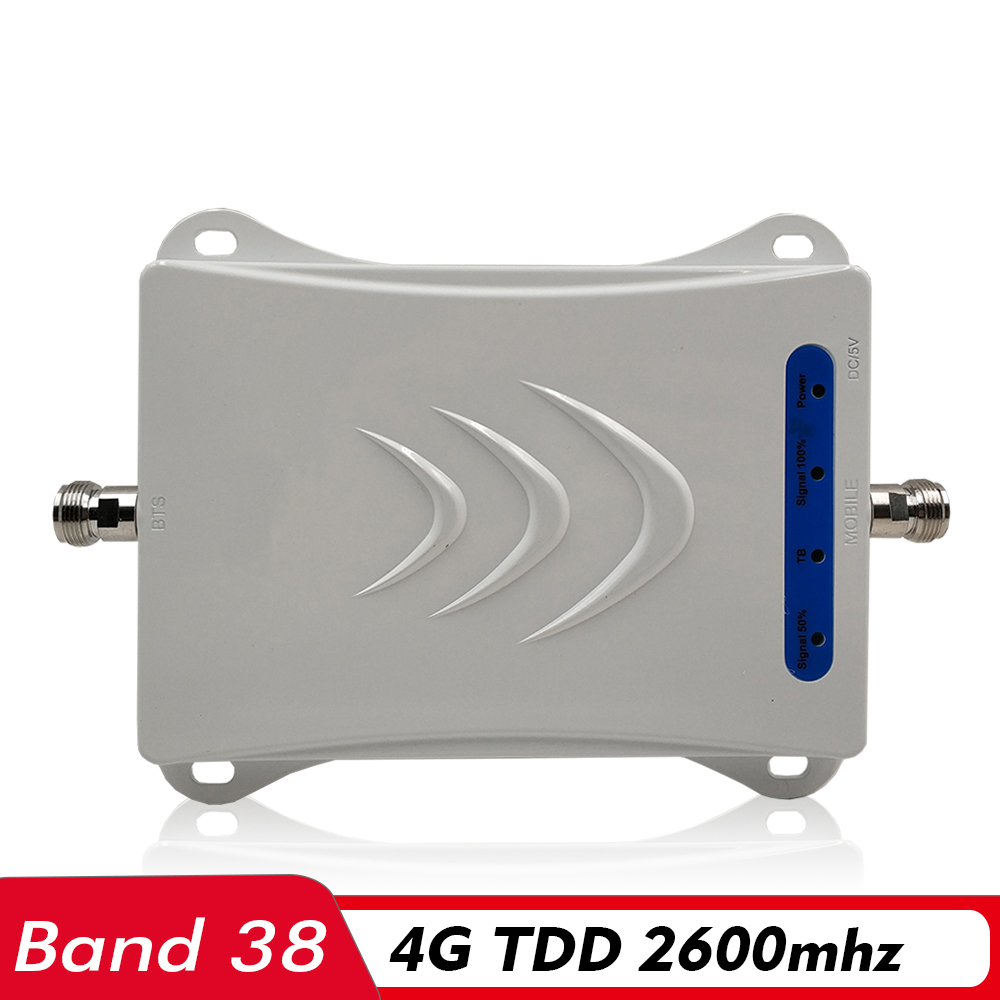 Amplificateur de Signal 4G TD LTE 2600 répéteur cellulaire Mobile (bande LTE 38) 4G TDD 2600 MHz amplificateur de Signal de téléphone portable pour l'arabie saoudite