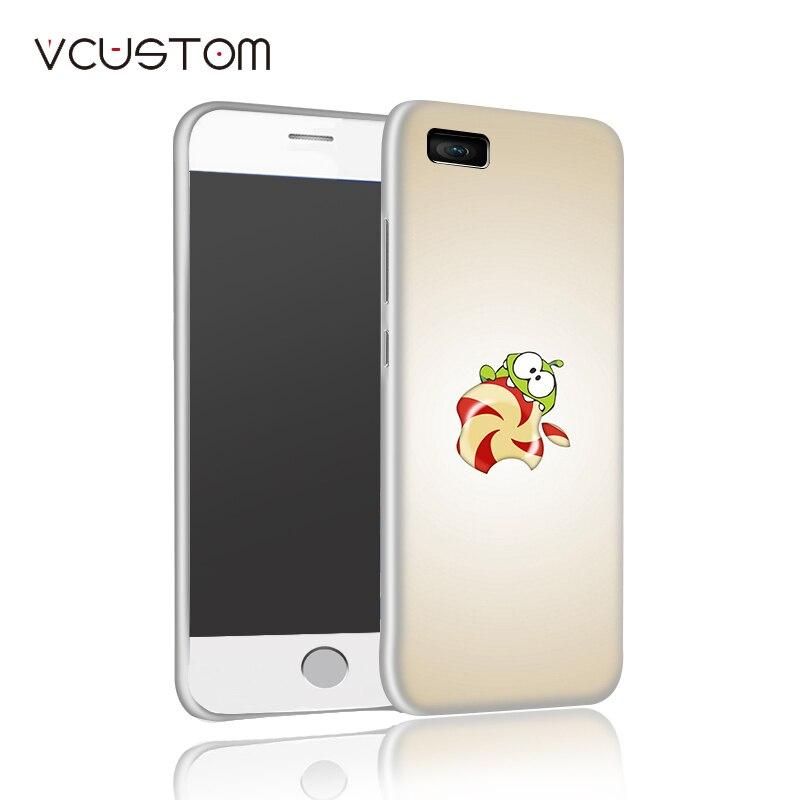 Vcustom 2017 перерезать веревку белый тяжелых случаях для iphone 5 5s телефон case