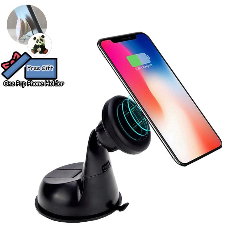 Soporte magnético coche tablero de montaje titular del teléfono imán Universal ventosa para iphone 7X8 Xiaomi Smartphone Lestopon