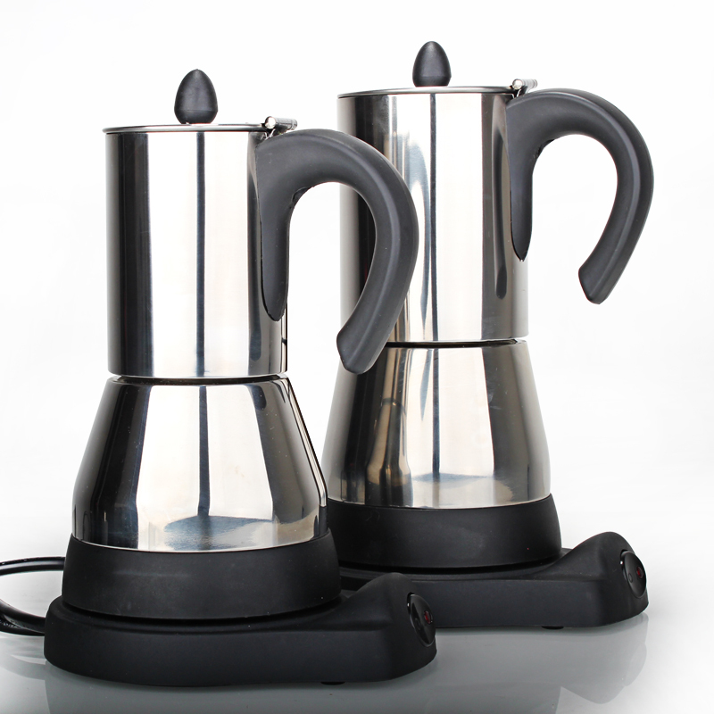 Moka Pot Electric And Get Free Shipping On Aliexpress Vespress Gold Stovetop Stainless Steel Espresso Coffee