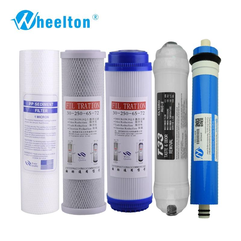 wheelton-new-water-purifier-fontb5-b-font-stage-filter-cartridge-75-gpd-ro-membrane-reverse-osmosis-