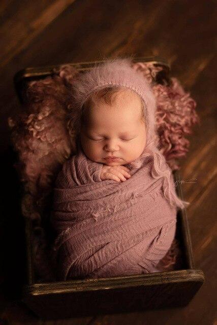 100*180CM Newborn wraps for photography,Newborn Swaddling Props,Gauze Wrap, Cheesecloth Wrap, Newborn Photo Prop