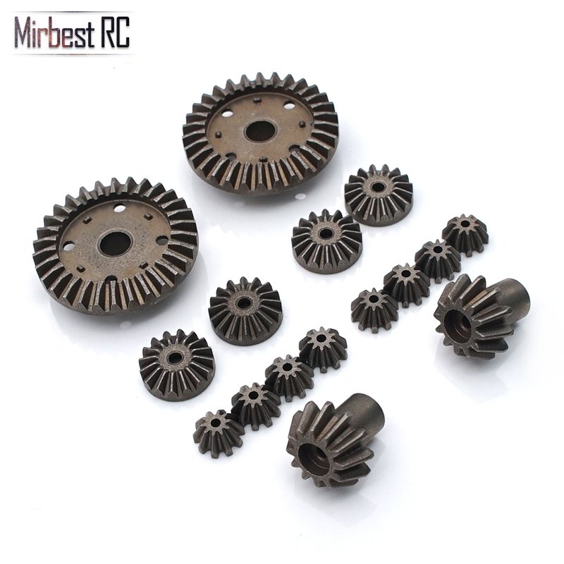 16PCS Rear Drive Shaft Differential Gear for WLtoys 12428 12429 1//12 RC Car Accs
