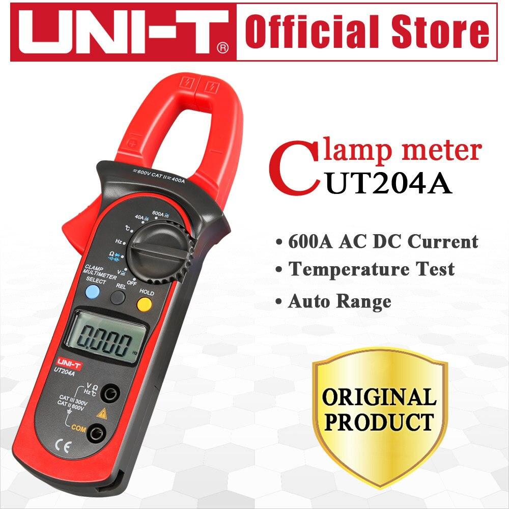UNI-T UT204A 600A AC DC digitale stroomtangen met temperatuur test - Meetinstrumenten - Foto 6