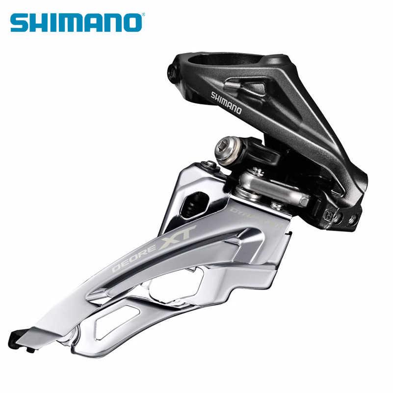 Shimano Deore XT FD M8000 передние переключатели для горного велосипеда Запчасти для 3x11 Скорость Велоспорт велопереключатель скоростей
