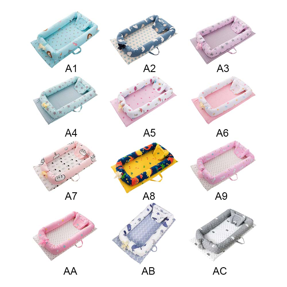 90*50*15cm Baby Bed Portable Foldable Baby Crib Newborn Sleep Bed Travel Bed For Baby Gift