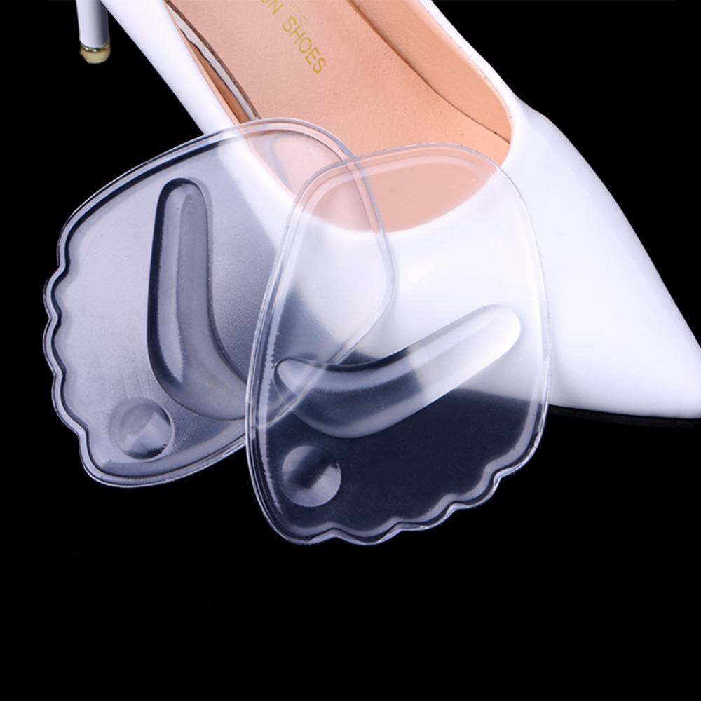 Hot New 1 Pair 9x6.3x0.5cm Women 4D Silicone Gel Forefoot Pad Anti Slip Pain Relief Thicken For High Heels  #10B00189 #Hot New 1 Pair 9x6.3x0.5cm Women 4D Silicone Gel Forefoot Pad Anti Slip Pain Relief Thicken For High Heels  #10B00189 #
