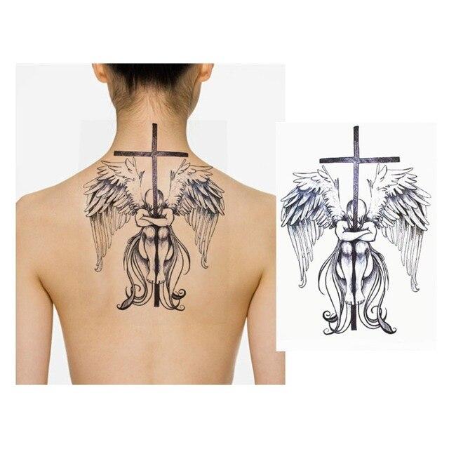 8 Pcs Art Corporel Tatouages Temporaires Impermeables Pour Hommes Et