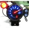3 75 Inch 80mm Car DF  0-11000 RPM Stepper Motor Tachometer RPM Gauge with Shift Light for Auto Car RPM Gauge Meter promo