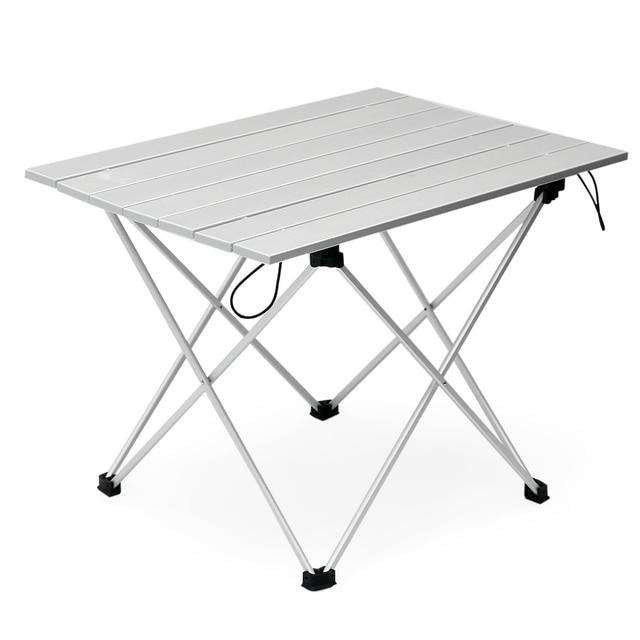 Tavolo In Alluminio Da Campeggio.Alluminio Pieghevole Tavolo Pieghevole Tavolo Da Pic Nic Tavolo Da